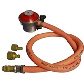 UNIVERSAL BARBECUE  CLIP ON PROPANE GAS REGULATOR HOSE