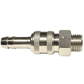 "QUICK RELEASE COUPLINGS 1/4"" M X 8mm"