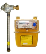 G4/U6 Natural Gas Meter with Installation Kit