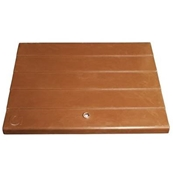 SPARE LID FOR BROWN SEMI-CONCEALED BOX 477mm X 360